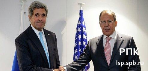 Лавров и Керри обсудили ближневосточные проблемы